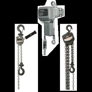 Kædetalje - Skraldetalje - El-talje